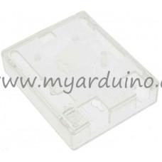 Krabička pro Arduino Uno, Leonardo - transparentní pevná