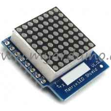 WeMos D1 mini LED matrix shield