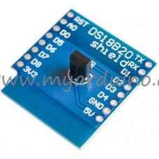 WeMos D1 mini DS18B20 shield