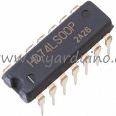 Logické obvody 74LS00 NAND