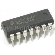 Logické obvody 74LS86 XOR