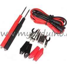 Univerzální měřící kabely s výměnnými koncovkami