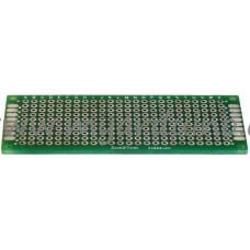 Univerzální vrtaný plošný spoj 3x7 cm, 240 pin, oboustranný