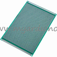 Univerzální vrtaný plošný spoj 8x12 cm, 1260 pin, jednostranný