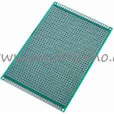Univerzální vrtaný plošný spoj 8x12 cm, 1260 pin, oboustranný