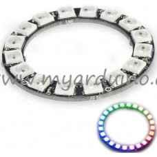 Kruhový RGB modul - 16x Digitální RGB LED