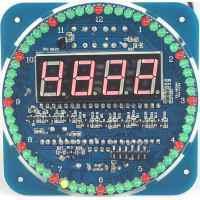 Stavebnice Hodiny Analogově Digitální SMD součástky