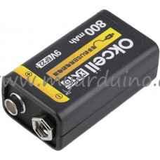 Baterie 9V LiPo nabíjecí